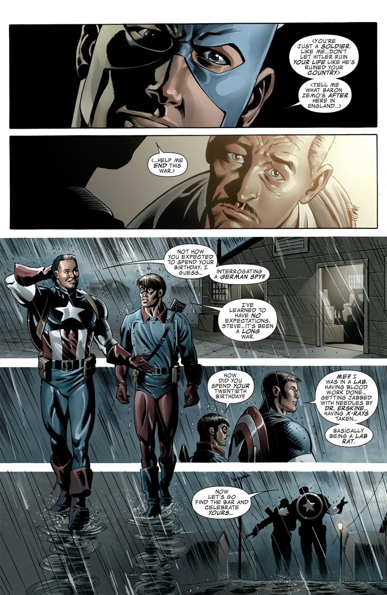 Read online Captain America (2005) comic -  Issue #50 - 17