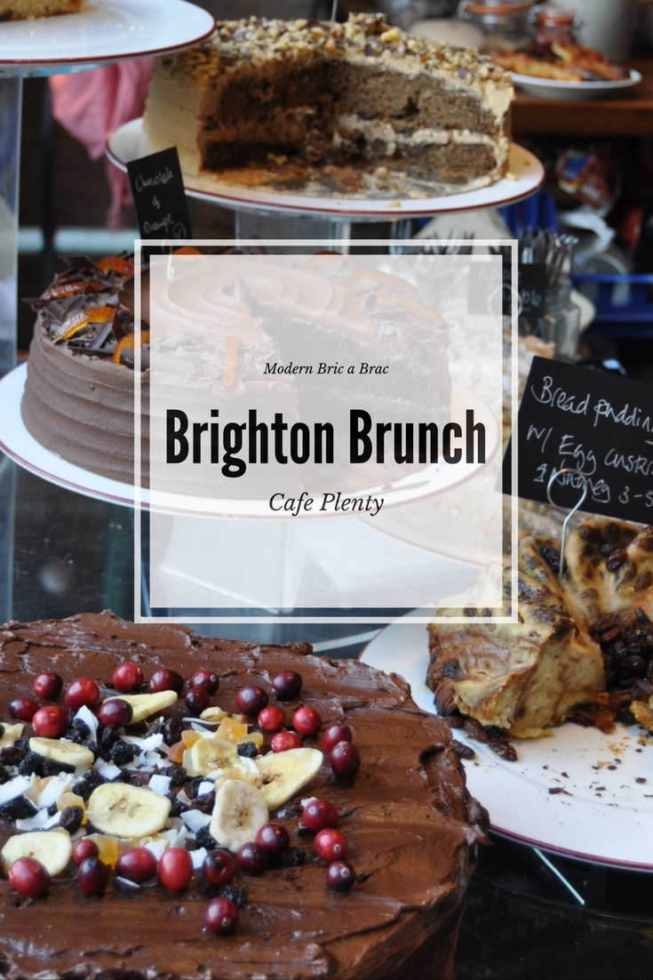 Sunday Brunch - Slow Brunch in Brighton at Cafe Plenty, photo by modern bric a brac