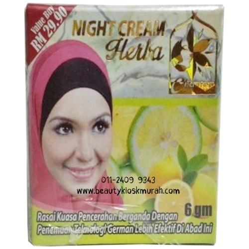 Night Cream Herba Chanteq Purnama