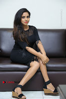 Telugu Actress Karunya Chowdary Latest Stills in Black Short Dress at Edo Prema Lokam Audio Launch .COM 0224.JPG