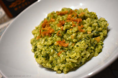 A Little Kitchen Witchery and Stinging Nettle Risotto #FoodieReads