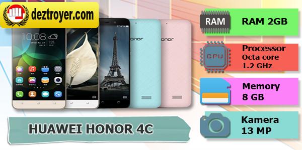 Spesifikasi Huawei HONOR 4c