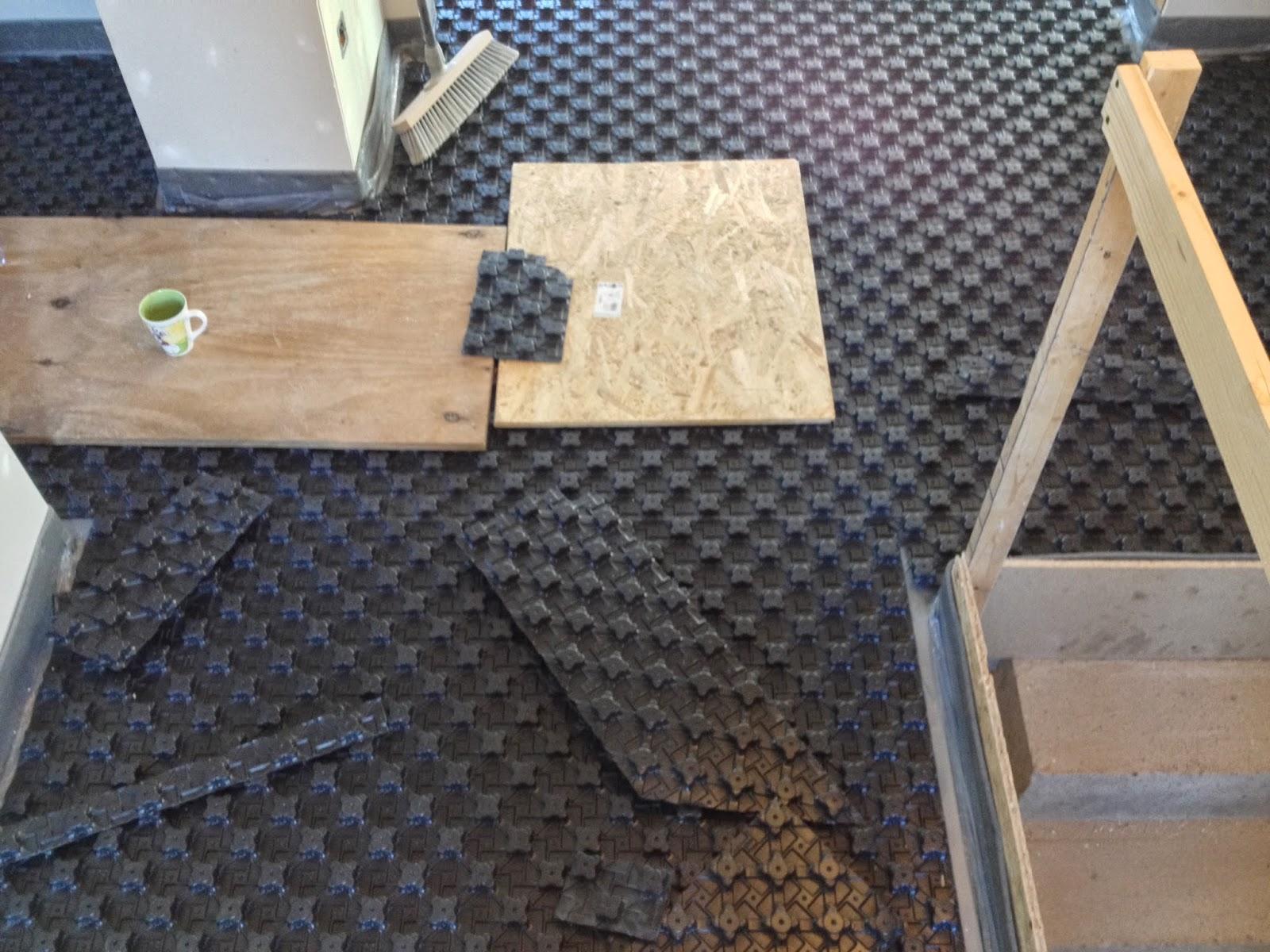 Bautagebuch Hassenroth Noppenplatten Noppenplatten Noppenplatten