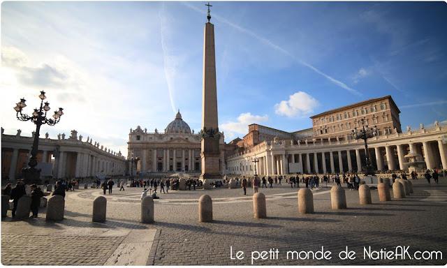 Place Saint-Pierre Vatican, Italie