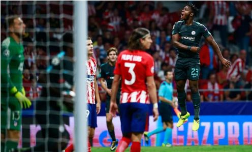 VIDEO: Atletico Madrid 1 – 2 Chelsea [Champions League] Highlights 2017/18