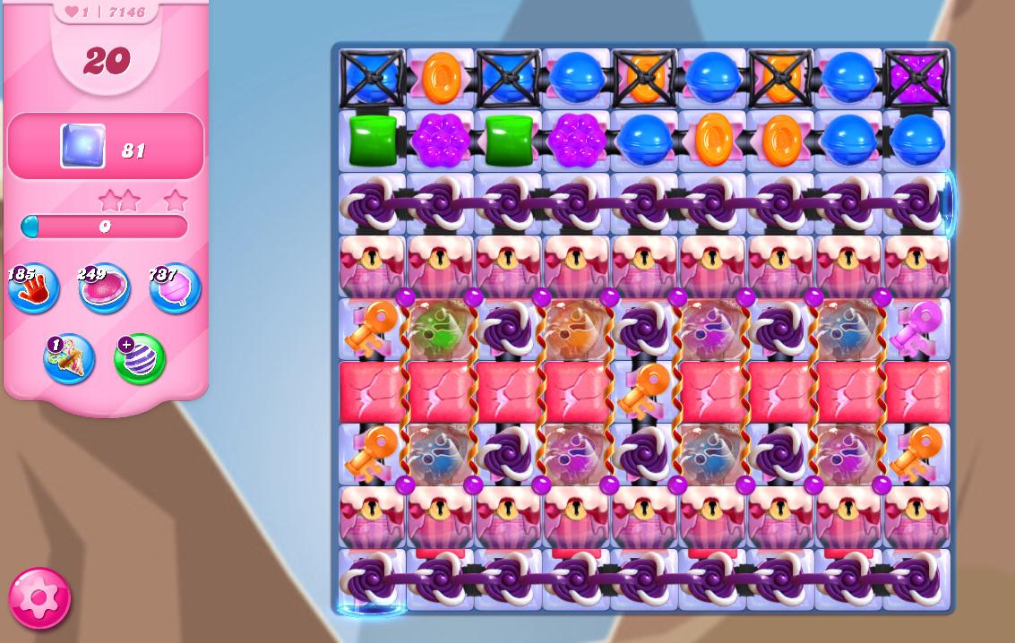 Candy Crush Saga level 7146