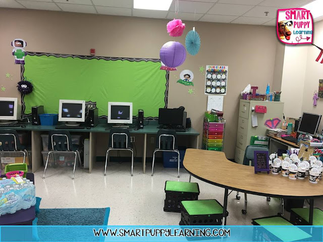 classroom reveal for first grade
