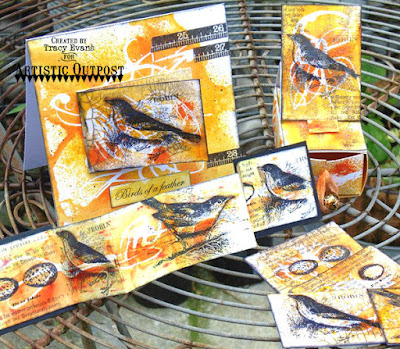 Artistic Outpost Stamps - Bids of a Feather