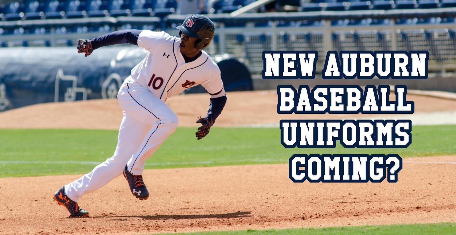 New Uniforms Coming For Auburn Baseball
