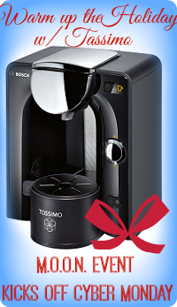 Sign up for the Tassimo M.O.O.N. giveaway event. Signups close 11/30.