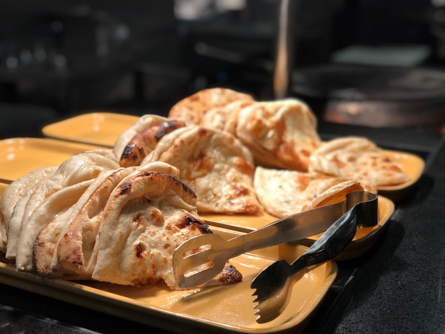 5 Days Out for Tweens and Teens at The Gate, Newcastle  - Naan breads at Za Za Bazaar
