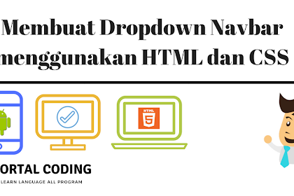 Create a Navbar Dropdown using HTML and CSS