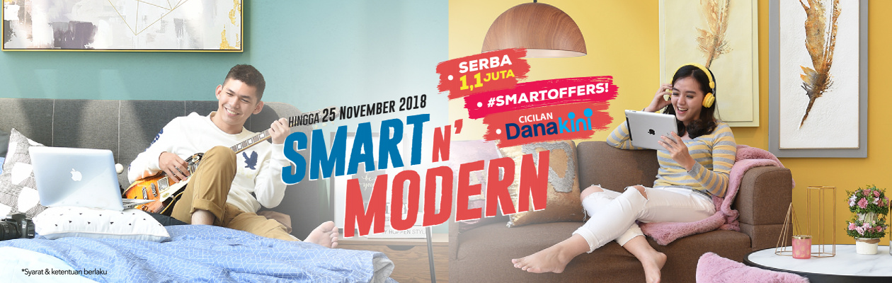 Informa - Promo Lengkap Serba 1,1 Juta , Smartoffer & Cicilan Dana Kini (s.d 25 Nov 2018)