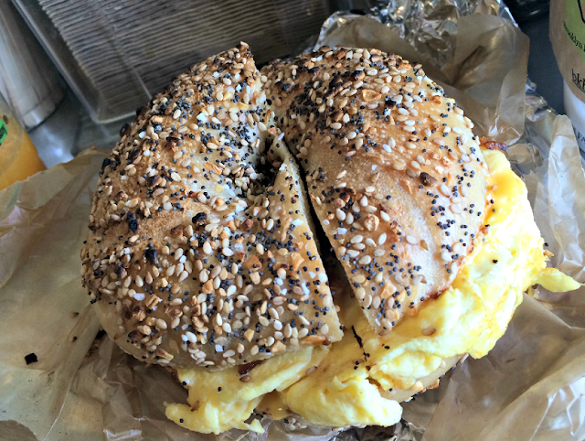 Brooklyn Bagel & Coffee Company no Queens em Nova York
