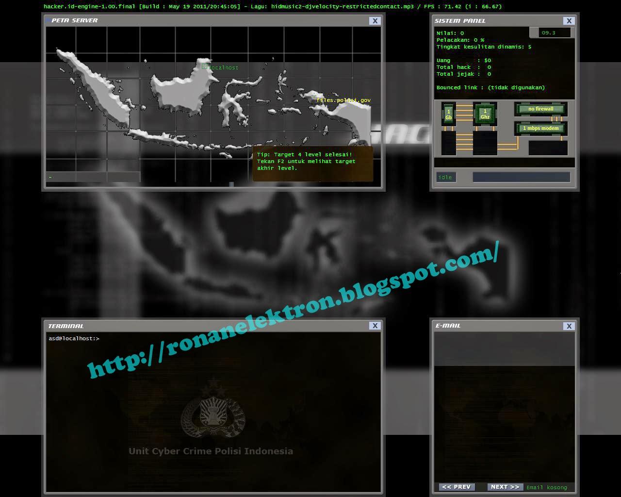 Free Download Game Hacker ID Full Version - Ronan Elektron