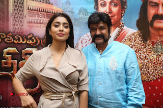 Shriya Saran Nandamuri Balakrishna at Gautamiputra Satakarni Team Press Meet Stills  0207.JPG