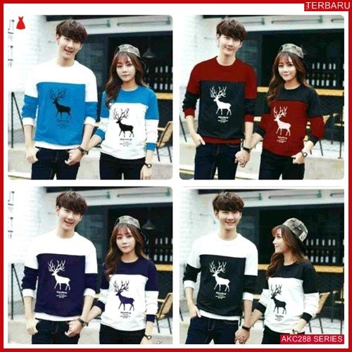 AKC288S95 Sweater Couple Rusa Anak 288S95 Pasangan BMGShop