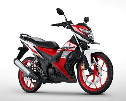 Warna Baru Honda Sonic150 Tahun 2018