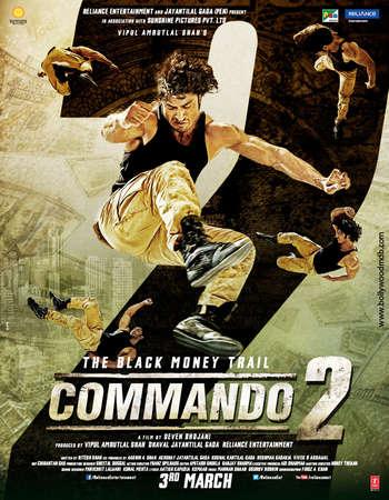 Photo of Commando 2 2017 Hindi (300MB) DVDRip 480p Mobile HEVC Download