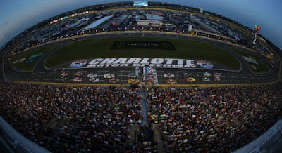 Scattered Thunderstorms For #NASCAR's All-Star Weekend