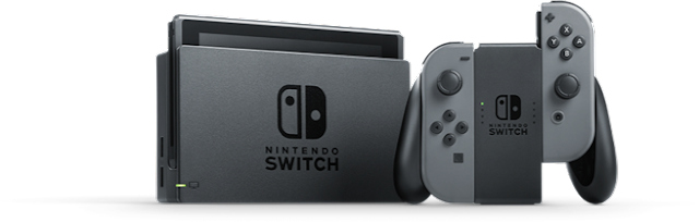 Nintendo Switch - Transparent PNG