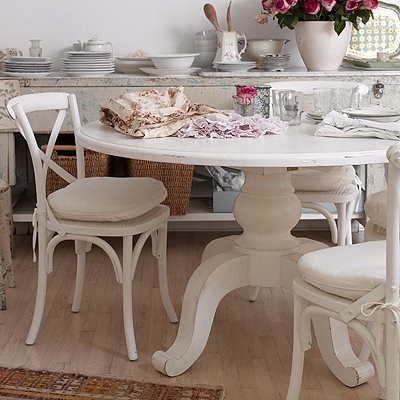 Shabby Chic Kitchen Table | Kitchen Ideas