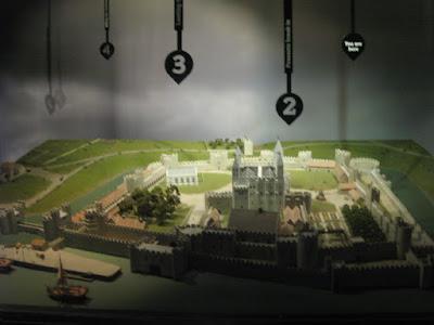 Maqueta de la Torre de Londres