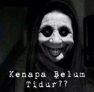 Koleksi DP BM Meme Hantu Malem Jumat Kliwon Bikin Kaget