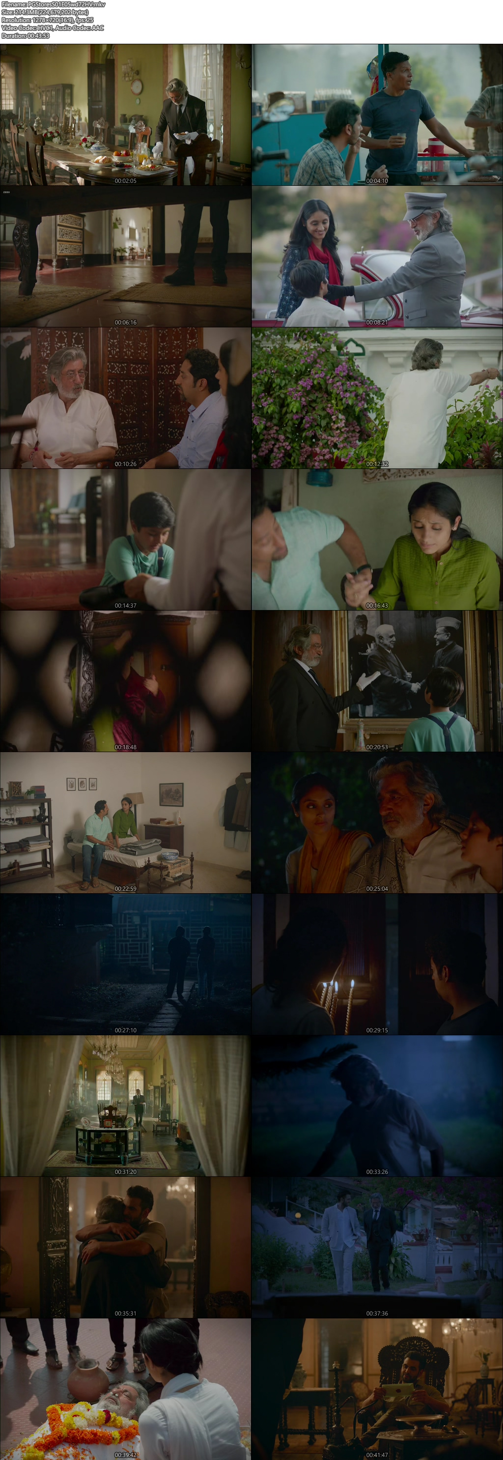 Screenshots Of Hindi Show Parchayee 2019 Episode 05 300MB 720P HD