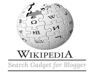 Wikipedia Search Box For Blogger