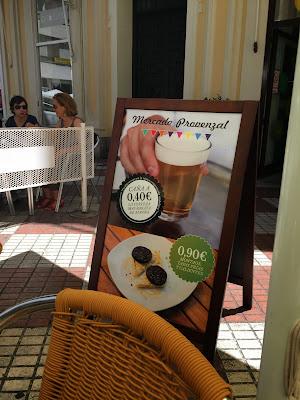 "I love the honesty ""la cerveza mas barata de España. Posiblemente sea la tipica exageracion andaluza."""