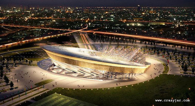 Region Stadium in Moscow. On the periphery of Moscow, this stadium will be a multi-purpose venue with a 44,257 capacityRegion Stadium in Moscow. On the periphery of Moscow, this stadium will be a multi-purpose venue with a 44,257 capacity