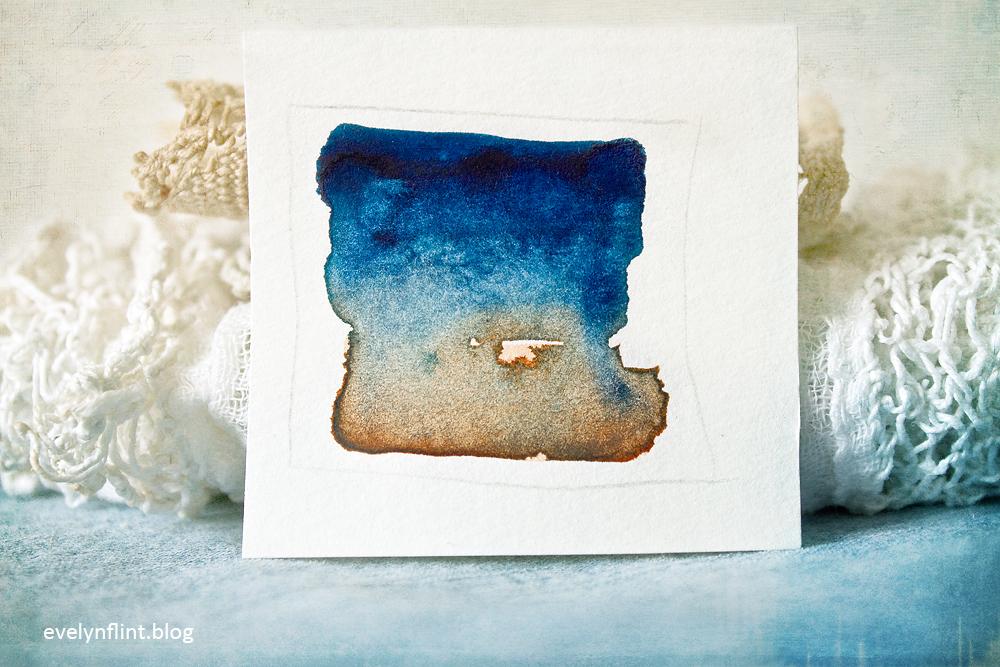 Denim & Lace Watercolour