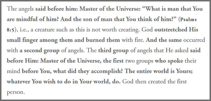 Meleklerin insanın yaratılışına itirazı, Tanrı insanı yaratmak isteyince melekler, Bakara 30, Meleklerin isyanı, TaNah Mezmurlar 8:4, sizden gelenler, din, islamiyet, HC,