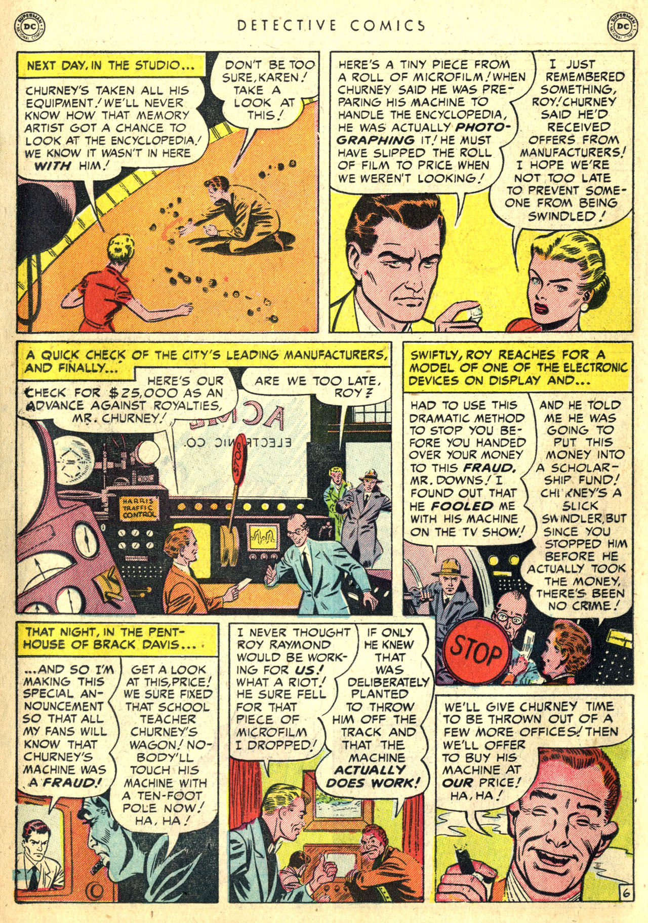 Detective Comics (1937) 168 Page 23