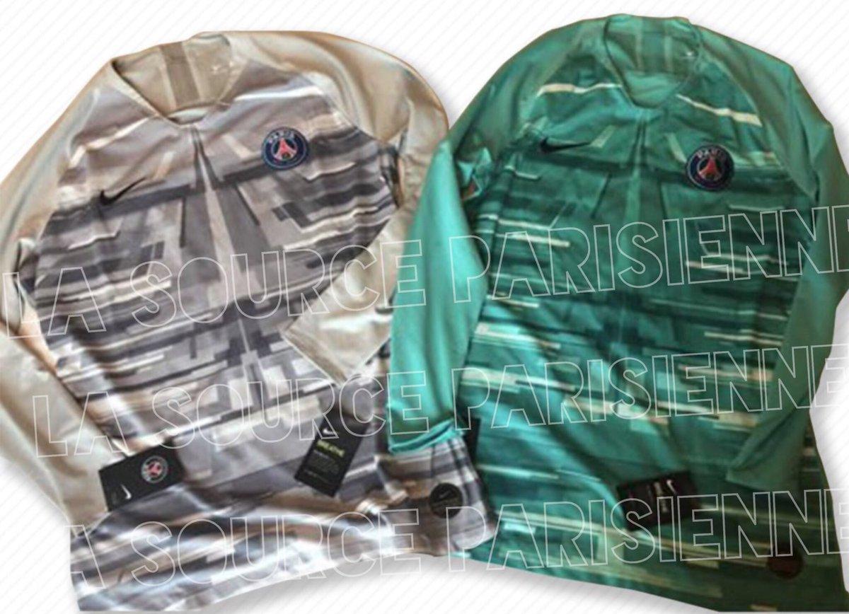 newest 3fcde a7a75 Paris Saint-Germain 19-20 Goalkeeper Home Kits Leaked ...