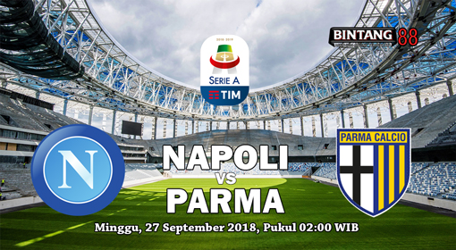 Prediksi Napoli vs Parma 27 September 2018