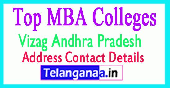 Top MBA Colleges in Vizag Andhra Pradesh