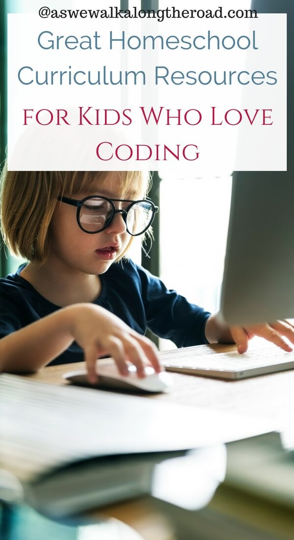 Homeschool curriculum for computer coding and programming