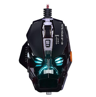 Gaming Mouse images and photos: King Kong Gt-01 Mechanic Laser Gaming Mouse 8 Buttons Breathing Light Macro Programming Adjustable 4000DPI USB PC Game Detachable Mice