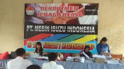 Rekrutmen PT. Mesin Isuzu Indonesia