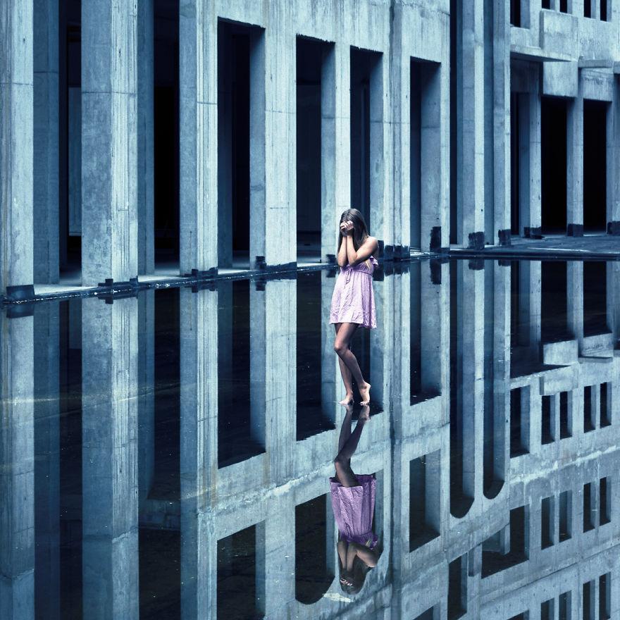 Небытие, фотограф Петер Целей