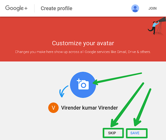 How to create free website in hindi step 4