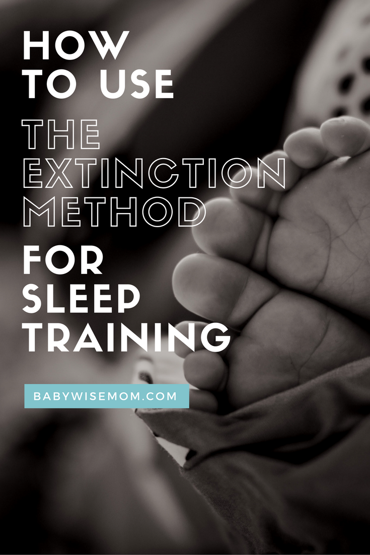 How To Use The Extinction Method for Sleep Training