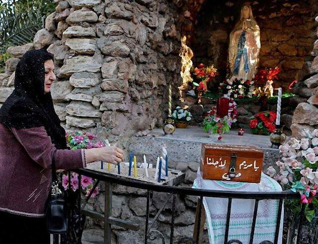Lourdes em Basra, no Iraque