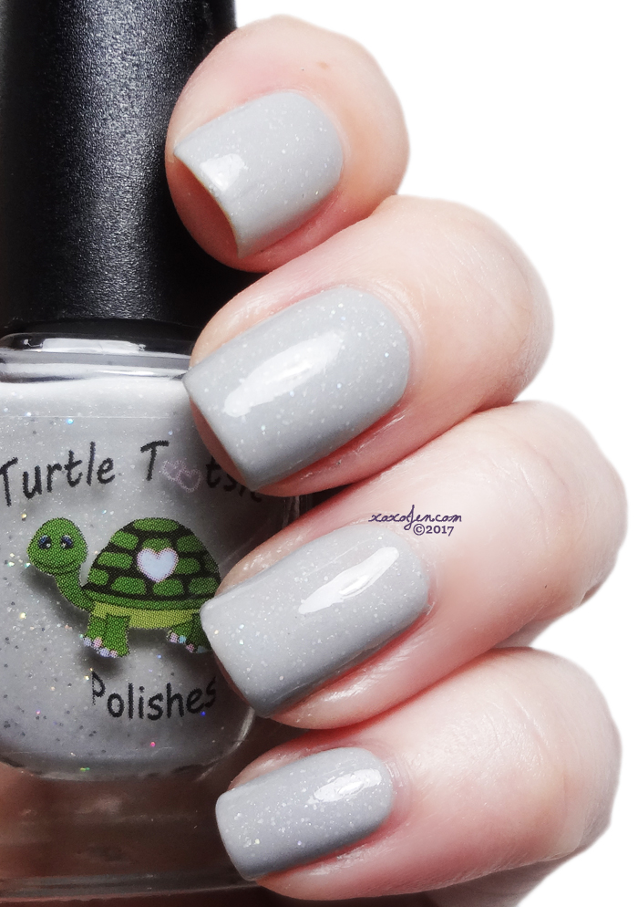 xoxoJen's swatch of Turtle Tootsie Grease Lightning