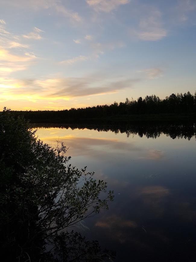 Lapin kesä, Ounasjoki