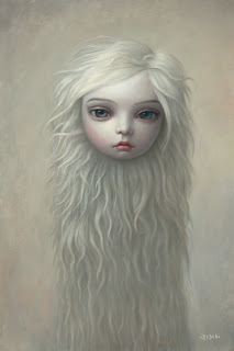 Mark Ryden painting - Fur Girl