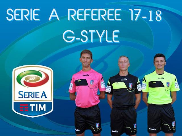 PES 2017 Seria A Referee Kitpack 2018 dari G-Style