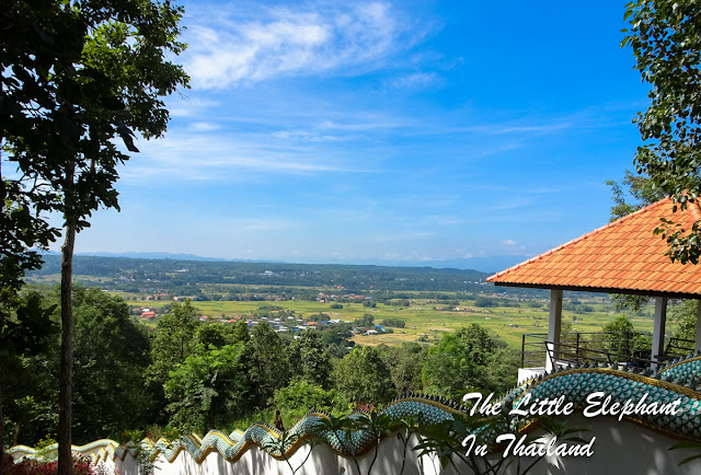 View over Pua, Nan - Thailand